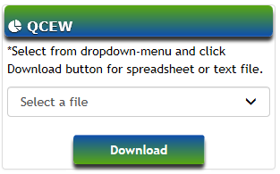 image of qcew dropdown menus